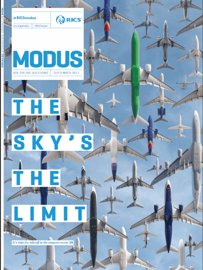 Modus RICS Magazine-September-2017